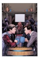 Doctor Who Vol 3 Issue 3 Cover by CharlieKirchoff