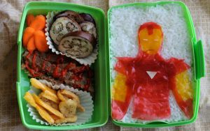 Iron Man Bento by mindfire3927