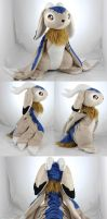 Blue Tiger Wolpertinger by MagnaStorm