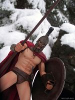 Leonidies stands ready in the snow - 300 by SurfTiki