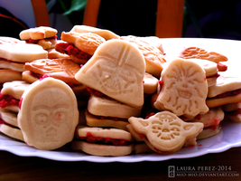 Star Wars Cookies by mio-mio