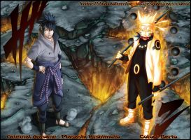 Naruto - Sasuke : We will defeat you together by diabolumberto