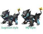 Mega Luxray (FANMADE) by lurinzoo