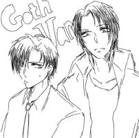 Goth and Vamp by bpm119