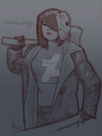 HarleyTheSirenXOXO's Bishoujo Jason by MichaelMayne