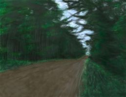 Road Quickpaint by youngyoda13