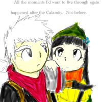 The Kid and Zia by Dreamaniacal
