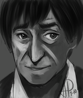 Patrick Troughton 5 by Hokutochan15