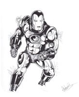 Invincible Iron Man by thewickedrobot