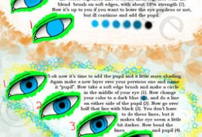 ++How to Color Eyes using PS++ by yunalee