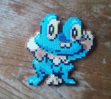 Froakie (Pokemon X and Y) by yolei-s