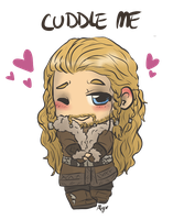 Cuddle Fili by AlyTheKitten