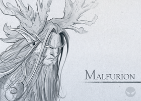 Malfurion by SpiritHide
