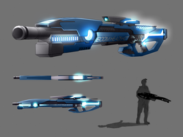 Liberico Sniper/Assault Rifle Design 003 by xvortexbladex