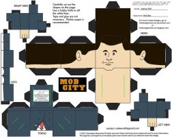 MobCity1: Ned Stax Cubee by TheFlyingDachshund