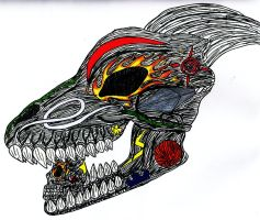 Dragon Skull by Up-Your-Arsenal-N90