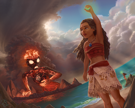 Moana by Blunell
