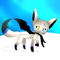 Luna winter design try out by LunaticDemonLuny