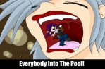 Valentines Day 2014 - Everybody Into The Pool! by DarkainArts