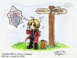 FMA: Chibi-Ed Looking for Al by k-tiraam