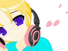 He's Listening to BNL by Narukokun