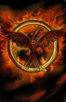 The Hunger Games: mockingjay by EpicLoop