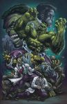 Hulk Transformation by DAVID-OCAMPO