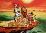 The Lion King by fourquods