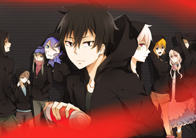 Mekakucity Actors by shinkusora
