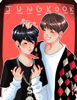 Jungkook, You gettin' OLD by viannilla