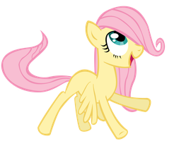 Filly Fluttershy by Left2Fail