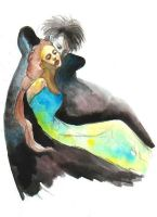 hades and persephone by cafir