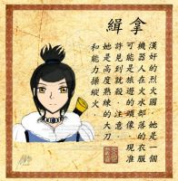 GWW - Azula's Wanted Poster by agent-ayu