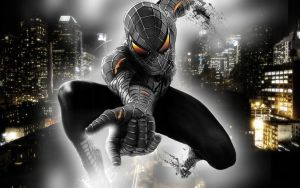 spider man black by Paullus23