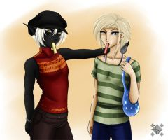 Freaks and their ice by Project-Drow