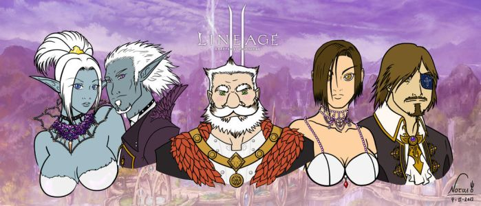 My Lineage II Party! by Zephind