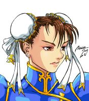 CHARACTER SELECT- CHUN-LI by viniciusmt2007