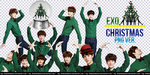 EXO Miracle of December PNG Ver. by IliTakishimaCho
