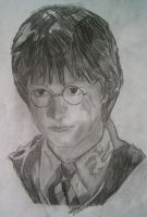Daniel Radcliffe: Harry Potter by simonsaz3