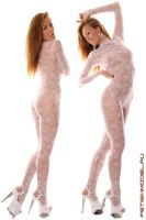 Guipure Catsuit III by agnadeviphotographer