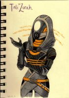 Tali'Zorah vas Normandy by LeFreaks