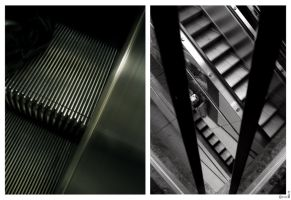 Ode to Escalators by mykem