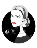 Grace Kelly by nicoletaionescu