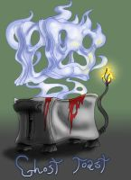 Ghost Toast by Cannibal-Cartoonist