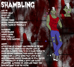 Shambling Reference Sheet by Infectious10