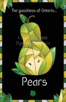 Pear Poster by sweetmisery11