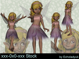 Fairies pack of 4 by xxx-0x0-xxx
