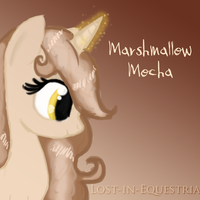 Marshmallow Mocha by Lost-in-Equestria