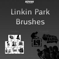 Linkin Park Brushes 1 by theKovah