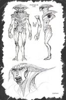 Mass effect Protheans Male B by Zairaam